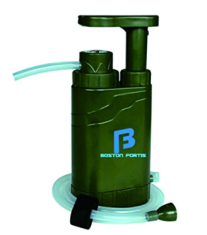 Boston Fortis Explorer Pro water filter for backpacking