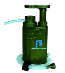 Boston Fortis Explorer Pro water filter for backpacking