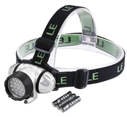 LE Headlamp LED headlight for camping, hiking, and reading