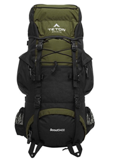 TETON hiking backpack