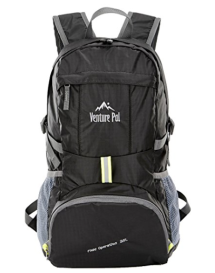 Venture Pal lightweight backpack for hiking and traveling