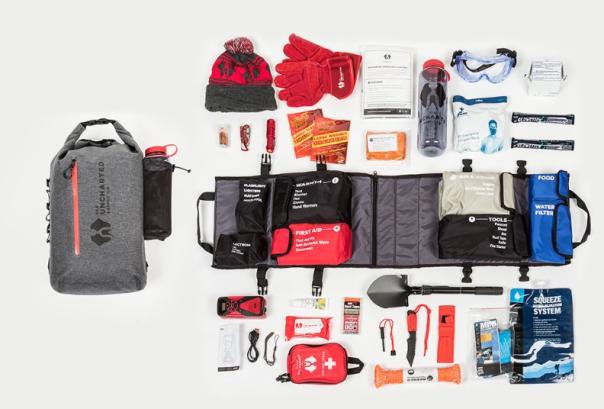 SEVENTY2 survival kit contents